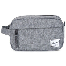 Herschel Chapter Carry On Travel Kit, raven crosshatch